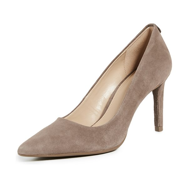 MICHAEL Michael Kors dorothy flex pumps in taupe - Leather: Sheepskin Pumps Stiletto heel Pointed toe...