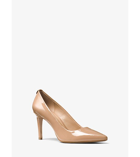 MICHAEL Michael Kors Dorothy Patent Leather Pump in brown - In A Timeless Silhouette Our Dorothy Pointed-Toe Pumps...