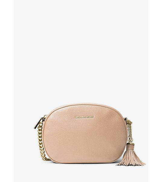 MICHAEL Michael Kors Ginny medium leather crossbody -