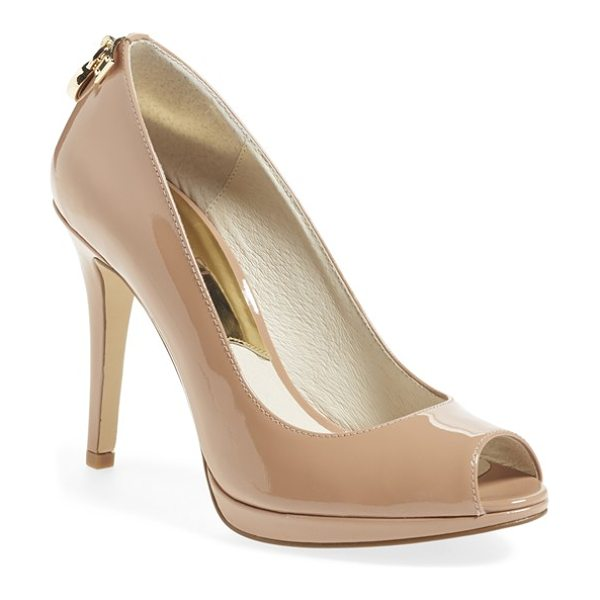 MICHAEL MICHAEL KORS hamilton peep toe pump - Classic and polished enough to transition easily from...