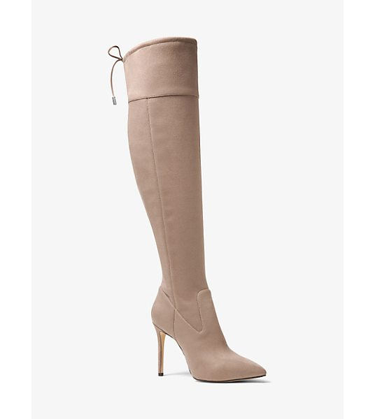 MICHAEL MICHAEL KORS Jamie Stretch Suede Boot - The Perfect Partner To Shorter Hemlines Our Jamie Boots...