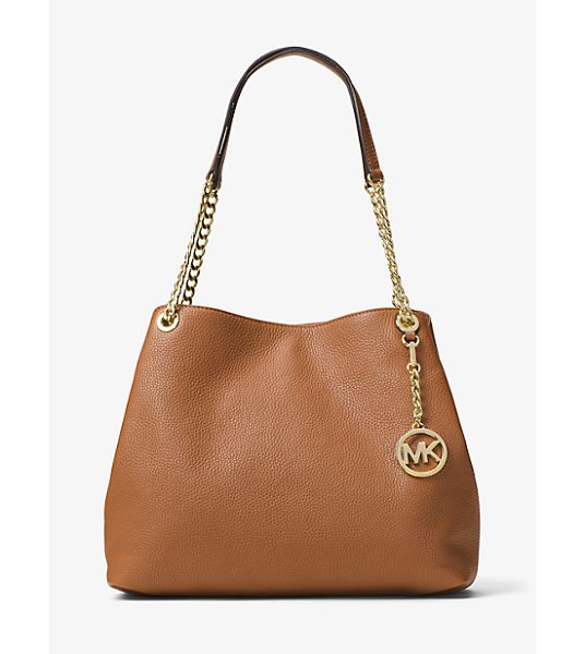 MICHAEL Michael Kors Jet Set Large Leather Shoulder Bag in brown - When It Comes To Everyday Glamour This Covetable Style...