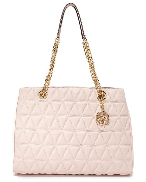 MICHAEL MICHAEL KORS large scarlett tote - A roomy MICHAEL Michael Kors tote in soft, quilted...