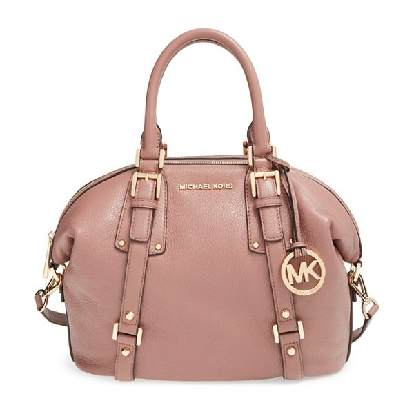 MICHAEL MICHAEL KORS Medium bedford satchel - A spacious, vintage-inspired satchel takes a...