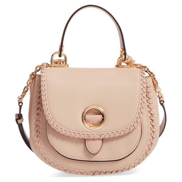MICHAEL MICHAEL KORS medium isadore leather crossbody bag - A pebbled-leather crossbody bag goes West with a curved...