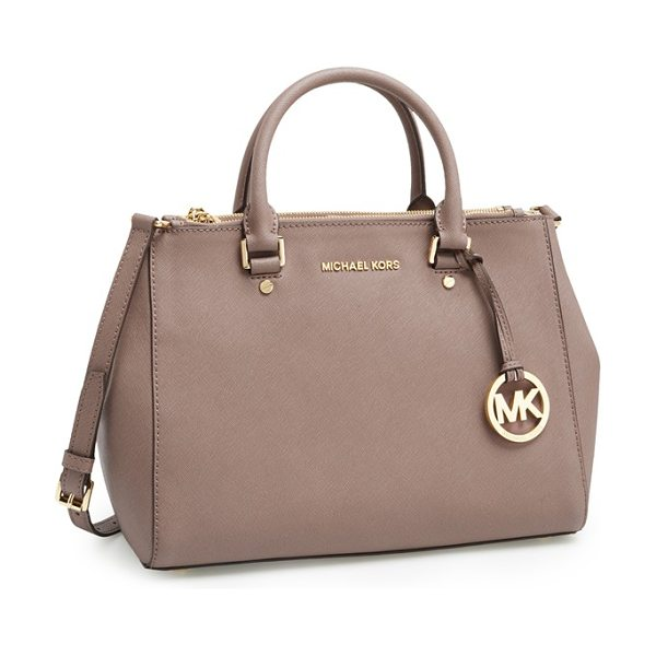 MICHAEL MICHAEL KORS Medium sutton saffiano leather tote - A clean, structured tote cast in lush Saffiano leather...