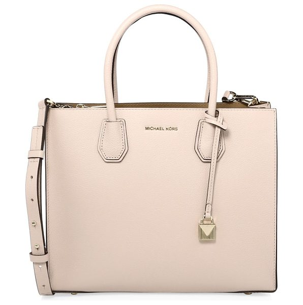 MICHAEL MICHAEL KORS mercer large convertible tote - Chic convertible tote in smooth textured leather....