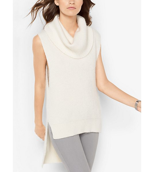 MICHAEL MICHAEL KORS Mohair Cowl-Neck Sweater - This Season We Gave The Cowl-Neck Sweater A Contemporary...