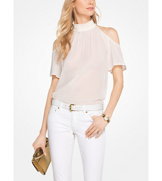 MICHAEL Michael Kors Peekaboo Top in natural - A Must-Have For Date Night Or Happy Hour This Peekaboo...