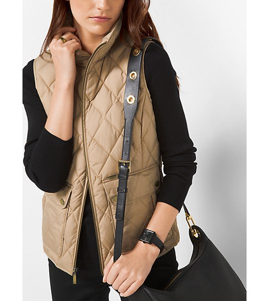 MICHAEL MICHAEL KORS Quilted-Cotton Vest - This Quilted-Cotton Vest Is Just The Layer Every Closet...