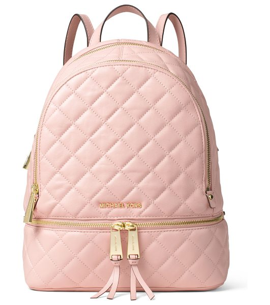 MICHAEL Michael Kors Rhea medium quilted backpack in blossom