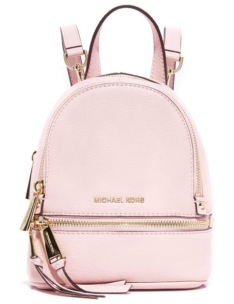 MICHAEL MICHAEL KORS Rhea mini backpack - A petite MICHAEL Michael Kors convertible backpack in...