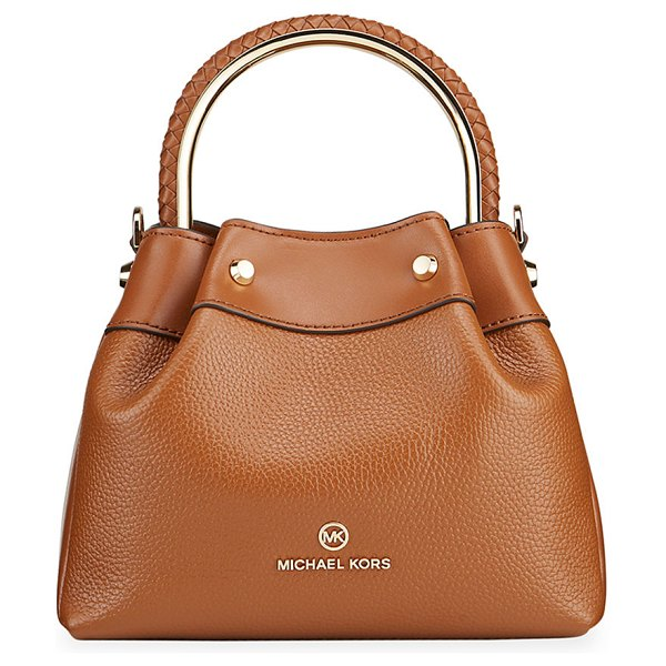 MICHAEL Michael Kors Rosie Small Ring Bucket Shoulder Bag in luggage