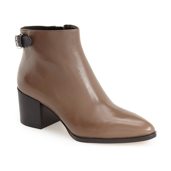 MICHAEL MICHAEL KORS saylor ankle bootie - Clean, modern design allows the details to shine on...