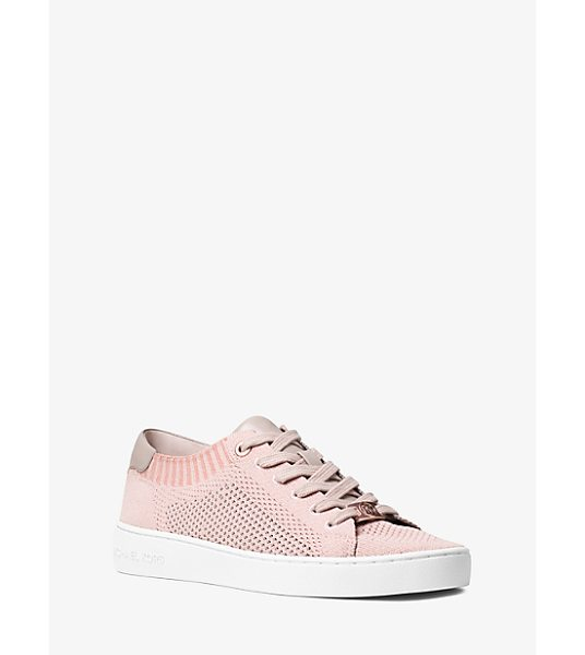MICHAEL MICHAEL KORS Skyler Leather And Knit Sneaker - Designed In Soft Knit Construction With Smooth Leather...