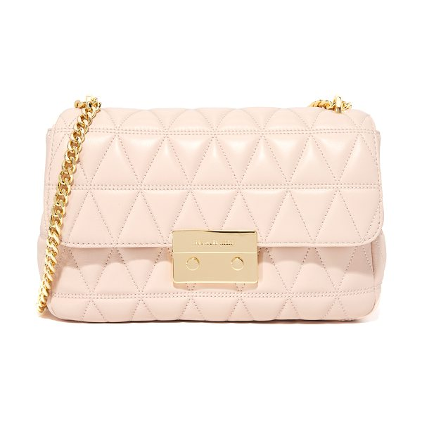 MICHAEL Michael Kors sloan chain shoulder bag in soft pink - A glamorous MICHAEL Michael Kors shoulder bag in soft,...