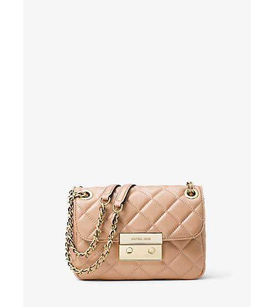 MICHAEL Michael Kors Sloan Small Quilted-Leather Shoulder Bag