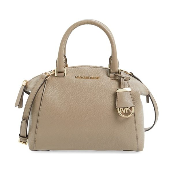 MICHAEL MICHAEL KORS Small riley satchel - A slightly flared silhouette adds a poised, modern...