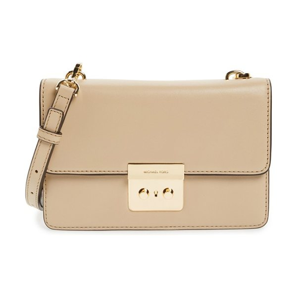 MICHAEL MICHAEL KORS Small sloan leather crossbody bag - Polished hardware adds sophistication to a streamlined...