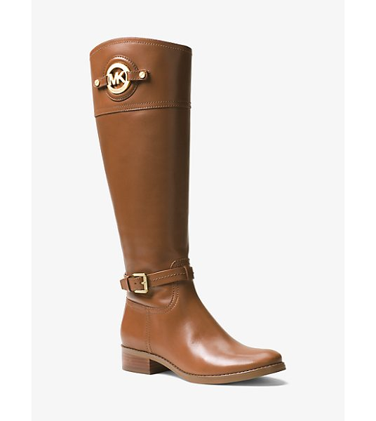 MICHAEL Michael Kors Stockard Leather Boot in brown - In Smooth Leather Our Stockard Boots Are A Perennial...