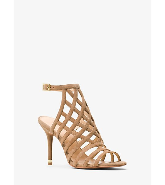 MICHAEL MICHAEL KORS Trinity Suede Sandal - Crafted From Sumptuous Suede Our Trinity Sandals Strike...