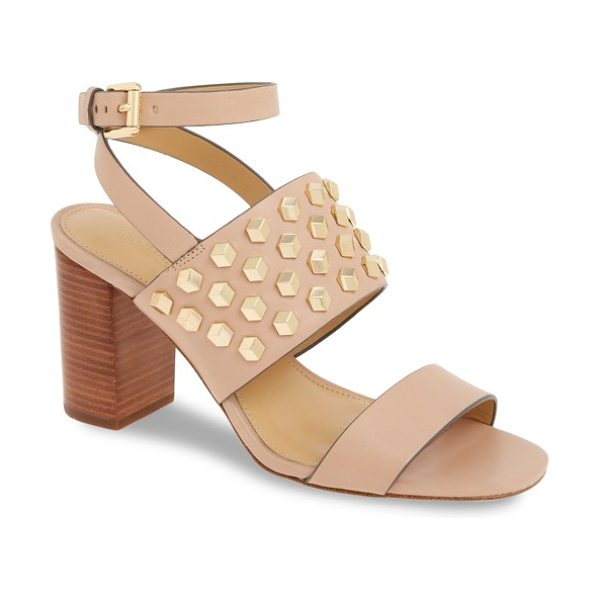 MICHAEL Michael Kors valencia sandal in oyster leather