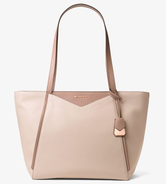 MICHAEL MICHAEL KORS Whitney Large Leather Tote - Meet Whitney: An Everyday Everywhere Bag Crafted From...