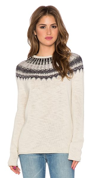 MICHAEL STARS High low crew neck sweater - Cotton blend. Dry clean only. MICH-WK211. SFL92. Supima,...
