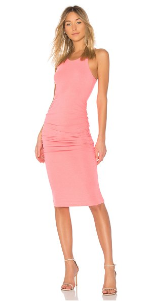 Michael Stars Tank Midi Dress in coral