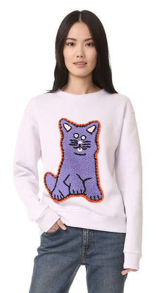Michaela Buerger Kat sweatshirt in pink - A super soft Michaela Buerger sweatshirt with a sweet,...