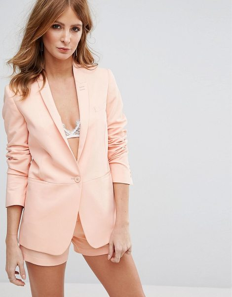 "Millie Mackintosh Ashes Blazer in pink - """"Blazer by Millie Mackintosh, Smooth soft-touch woven..."