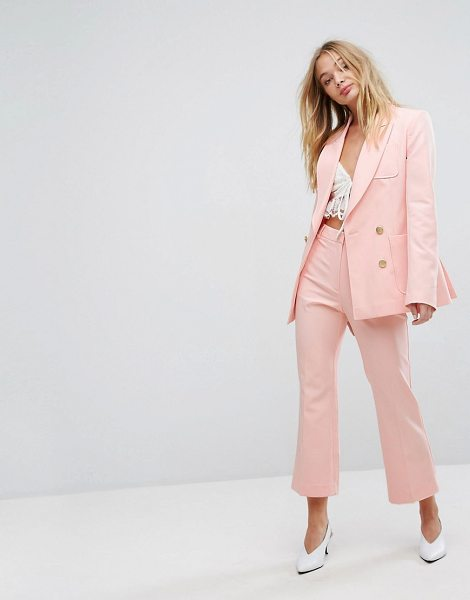 "Millie Mackintosh cropped kick flares in blush - """"Pants by Millie Mackintosh, Stretchy and lightweight..."