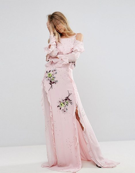 "MILLIE MACKINTOSH Tytherly Maxi Dress - """"Dress by Millie Mackintosh, Semi-sheer woven fabric,..."