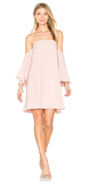 "Milly Mila Dress in pink - ""Self: 90% poly 10% elastaneLining: 100% poly. Dry clean..."