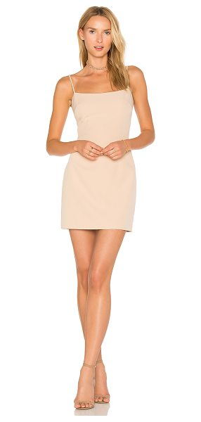 Milly Mini Slip Dress in nude