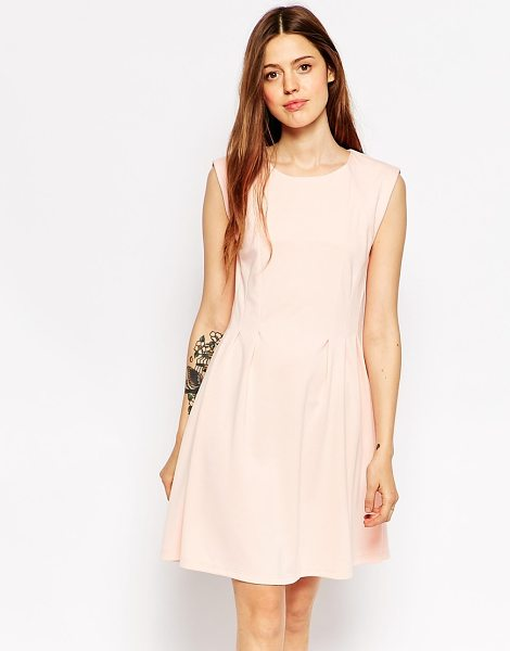 MINIMUM Skater dress in 413 pastel pink - Evening dress by Minimum Mid-weight woven fabric...