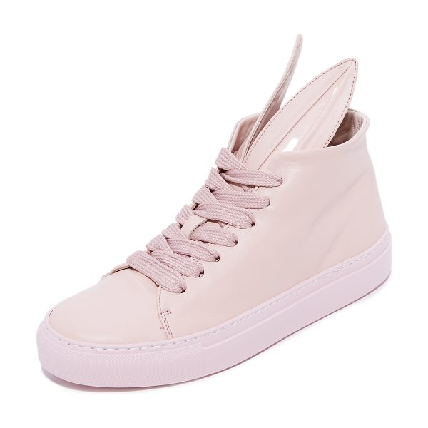 Minna Parikka bunny sneakers in powder - Signature Minna Parikka bunny sneakers, crafted in...