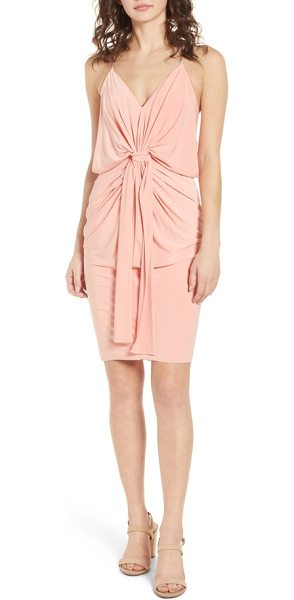 MISA domino dress in pink - Get ready for date night in no time with this slinky...