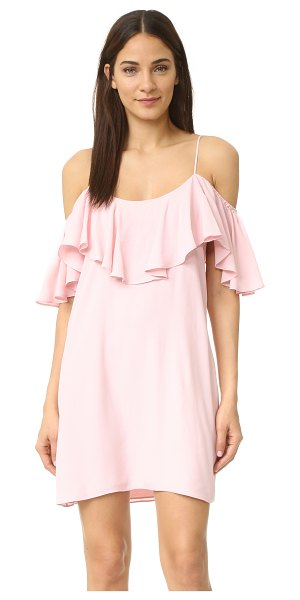 MISA emil dress in pink blush