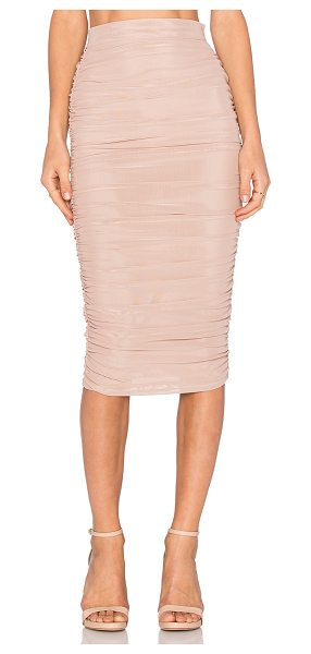 MISHA COLLECTION Ajani skirt - 89% poly 11% spandex. Dry clean only. Fully lined....