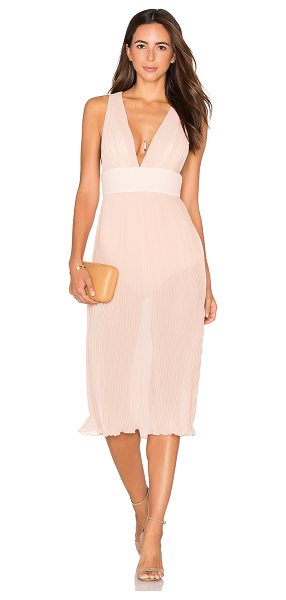 MISHA COLLECTION Marika Dress in nude - Self & Lining 1: 100% polyContrast: 95% poly 5%...