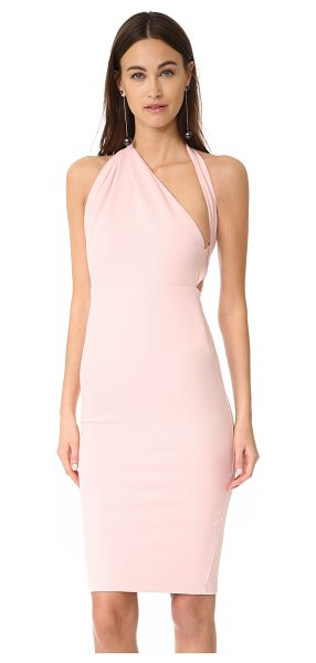 MISHA COLLECTION misu dress in pale pink - NOTE: Runs small. A chic Misha Collection cocktail dress...