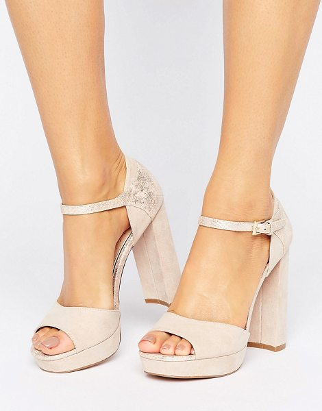 Miss Kg Summer Platform Sandal in beige