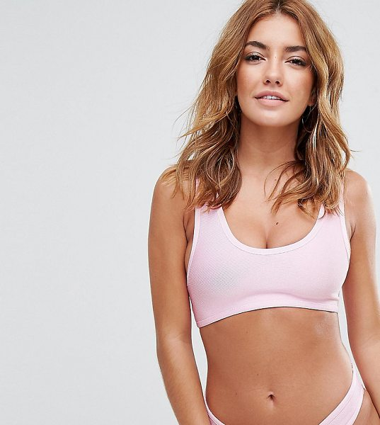 "MISSGUIDED Bandage Bikini Top in pink - """"Bikini top by Missguided, Stretch bandage fabric,..."