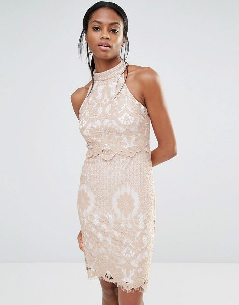 "MISSGUIDED Lace Overlay Dress - """"Dress by Missguided, Lined lace, High neckline,..."