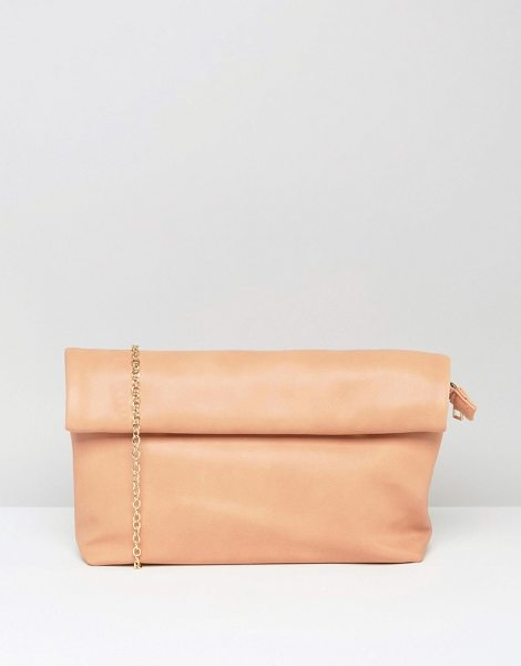 MISSGUIDED Minimal Clutch Bag in pink - Clutch bag by Missguided, Faux leather outer, Fully...
