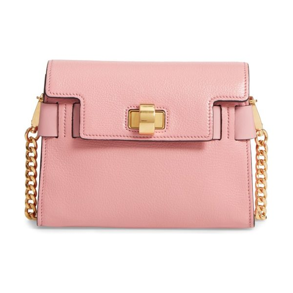 Miu Miu madras leather crossbody bag in pink - This cleanly styled, structured crossbody made from...