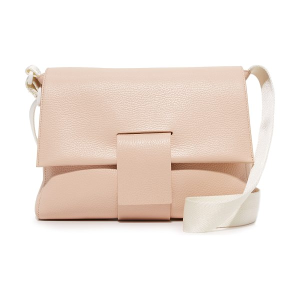 MM6 MAISON MARGIELA shoulder bag - A slouchy MM6 shoulder bag in pebbled leather. Slim back...