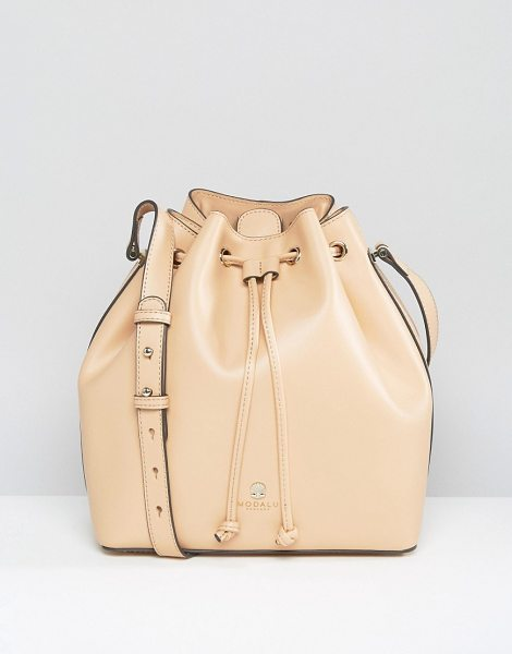 Modalu Amber Duffle Bag in beige - Cart by Modalu, Smooth leather outer, Branded lining,...