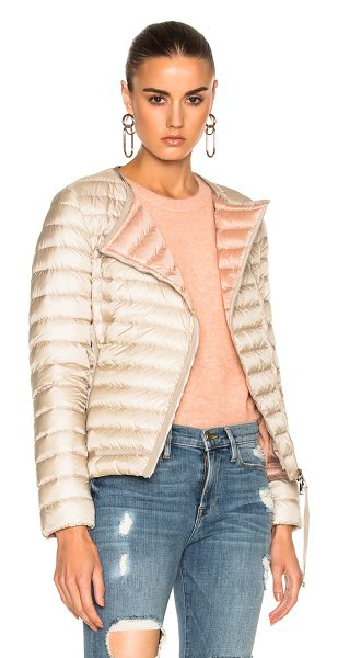 Moncler Amy Jacket in neutrals - Self & Lining: 100% polyamide - Filling: 90% goose down...
